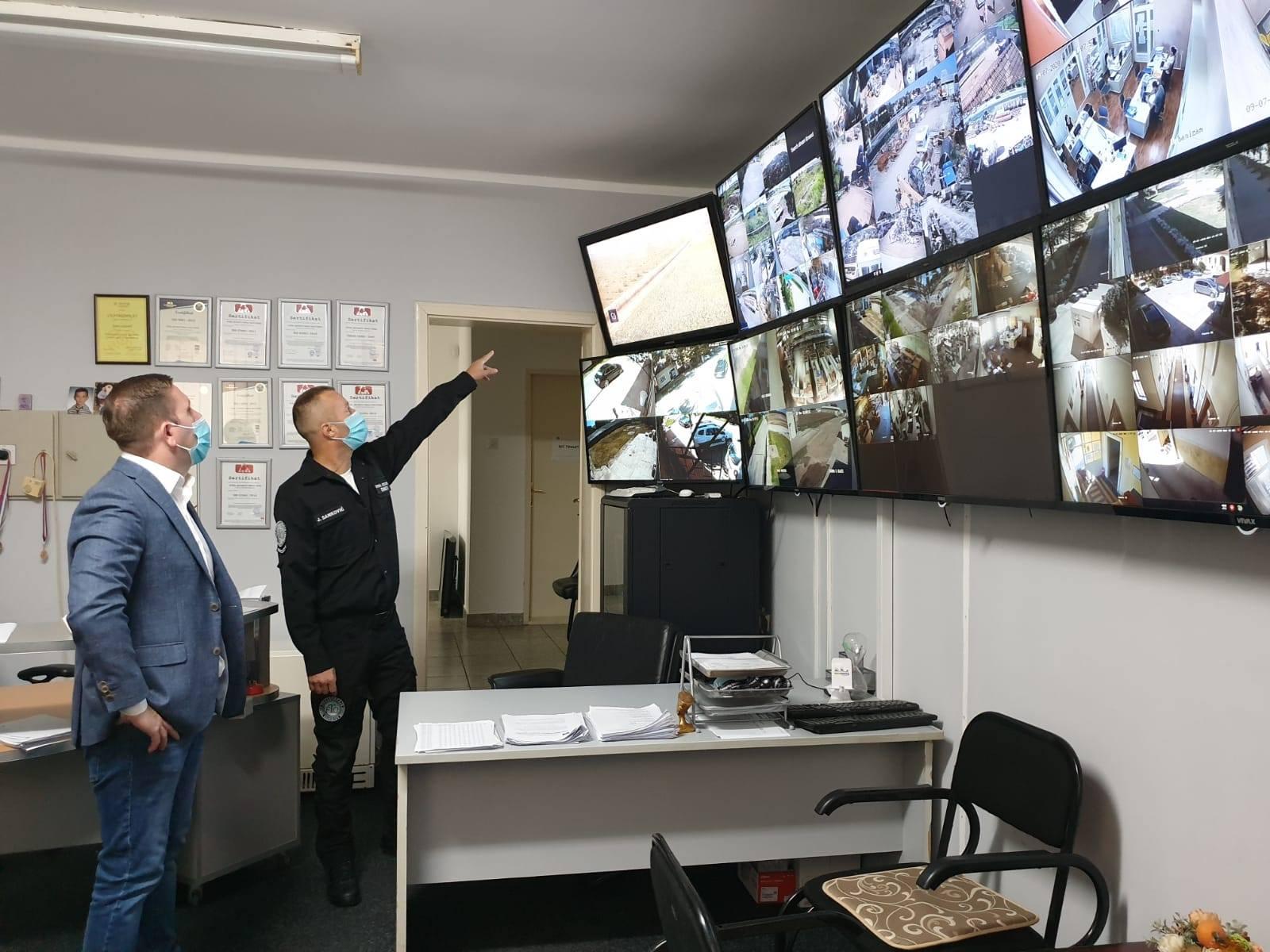 Video nadzorom protiv krađe u žabaljskom ataru
