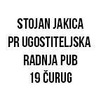 Stojan Jakica Pr Ugostiteljska radnja Pub 19 Čurug
